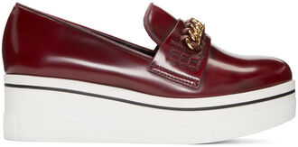 loafers burgundy shoes
