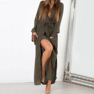 dress women t shirts v neck dress plunge v neck long sleeves long sleeve dress long sleeve lace dress maxi dress black maxi dress