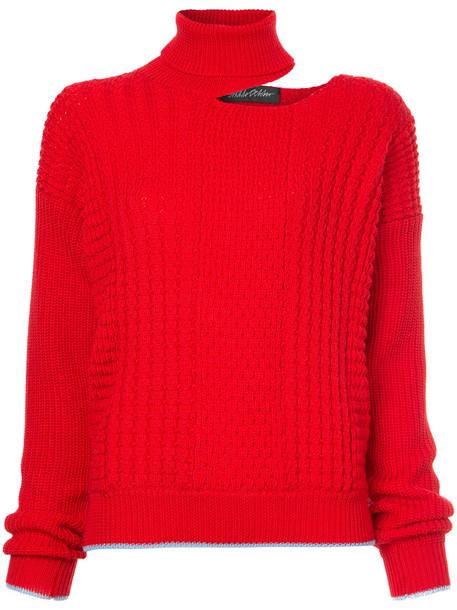 ANNA OCTOBER jumper women red sweater