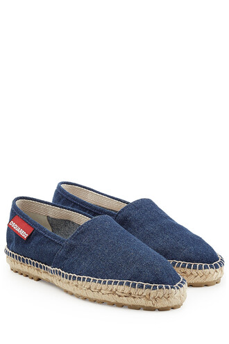 denim espadrilles blue shoes