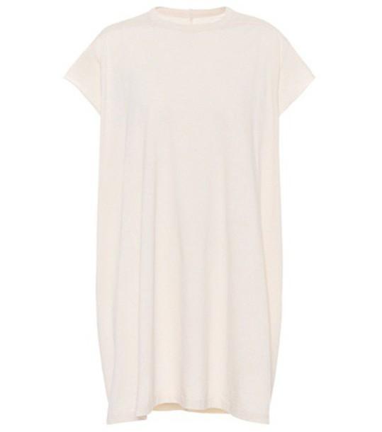 Rick Owens t-shirt shirt cotton t-shirt t-shirt cotton white top