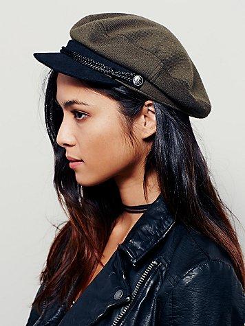 Free People Alexa Lieutenant Hat