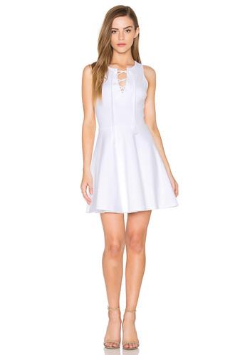 dress mini dress mini sleeveless lace white