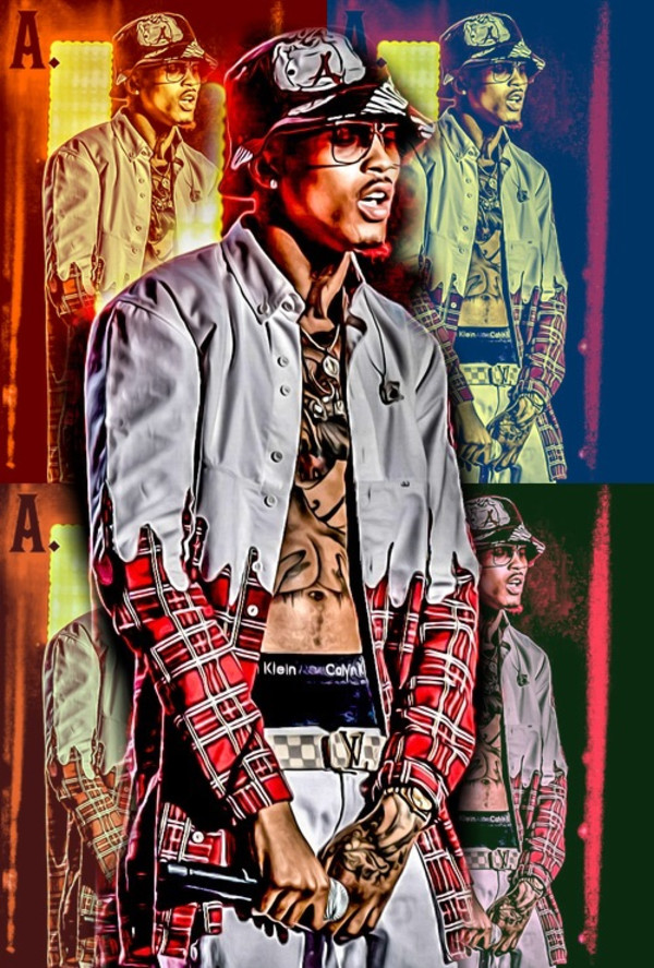 jacket august alsina swag bucket hat thug life chris brown usher singer bet awards 2014 tattoo glasses voice