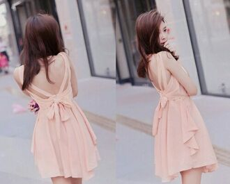 dress kawaii girly kawaii dress korean fashion cute mini dress pink pink mini dress