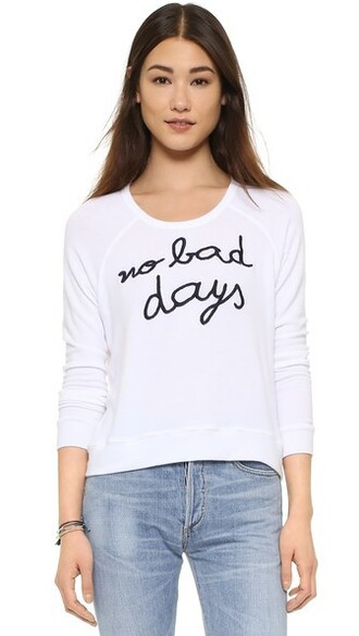 pullover white sweater