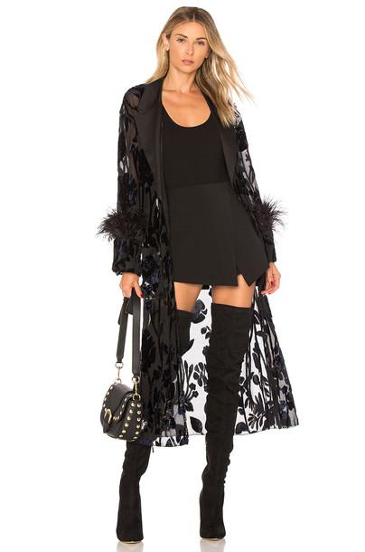 Chrissy Teigen jacket black