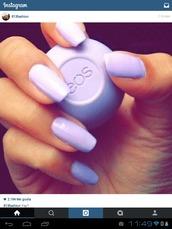 nail polish,purple,eos