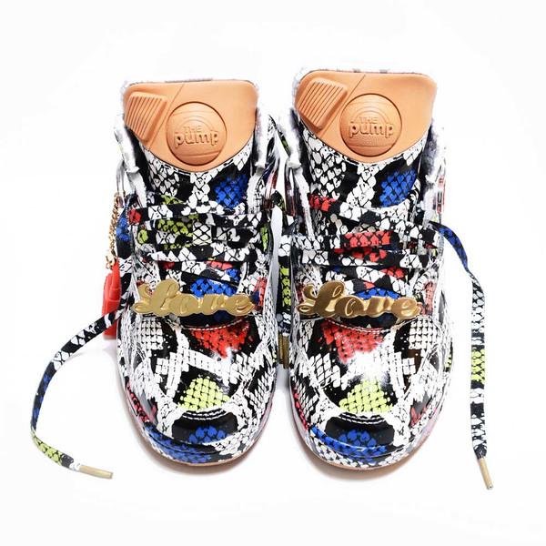 Melody ehsani x reebok pump omni lite sneaker