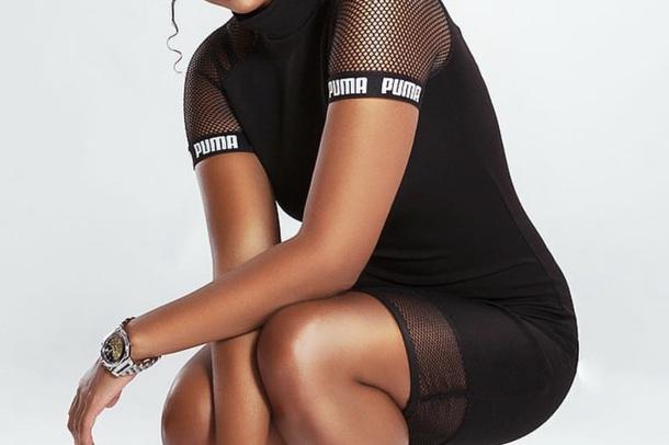 shirt black puma sportswear