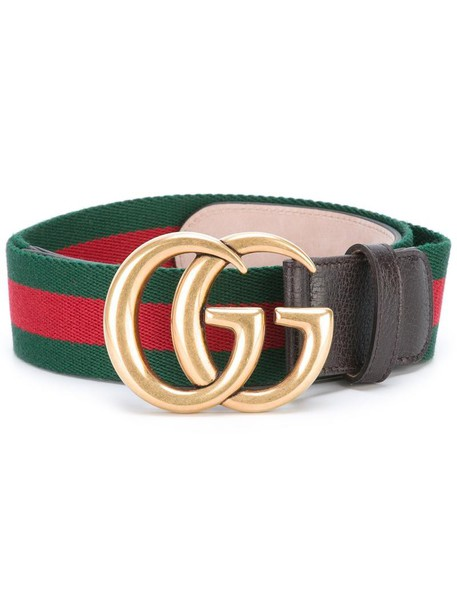 0bf689383ee1 gucci Gucci - Web canvas belt - women - Cotton Leather - 80