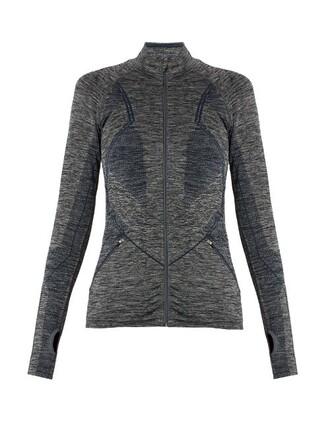 jacket long grey