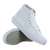 Vans Classic SK8-HI White Suede Youths Trainers | eBay