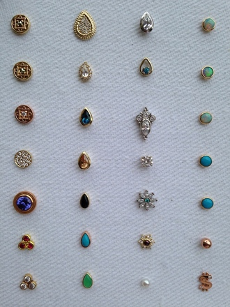 jewels piercing earrings piercing jewelry studs stud earrings