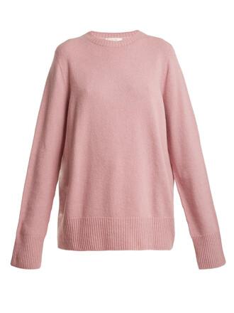 sweater wool pink