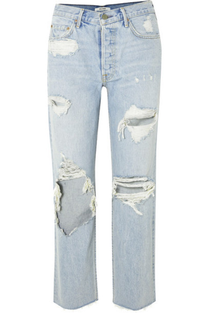 GRLFRND jeans denim high light