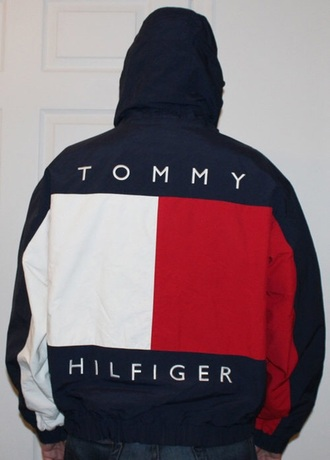 jacket tommy hilfiger jacket windbreaker navy tommy hilfiger. Black Bedroom Furniture Sets. Home Design Ideas
