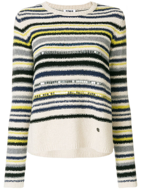 Sonia by Sonia Rykiel jumper women nude cotton wool sweater