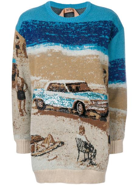 No21 jumper beach women wool sweater