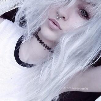 shirt tank top monochrome pale pale grunge kawaii kawaii grunge soft grunge kawaii dark black and white cute