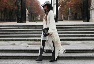 madame rosa blogger scarf jeans bag