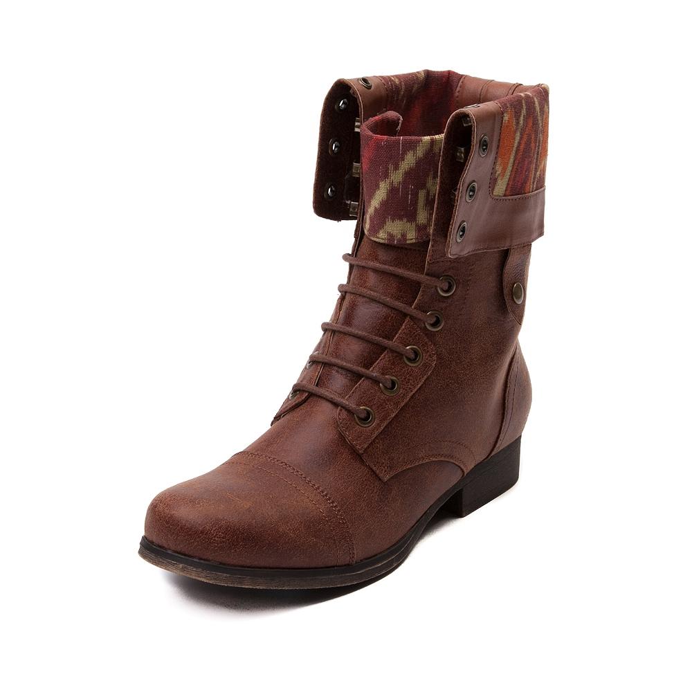 Womens madden girl tiara boot, cognac