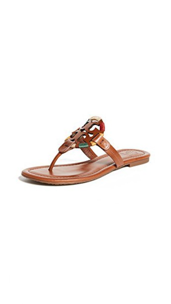 Tory Burch embroidered sandals vintage shoes
