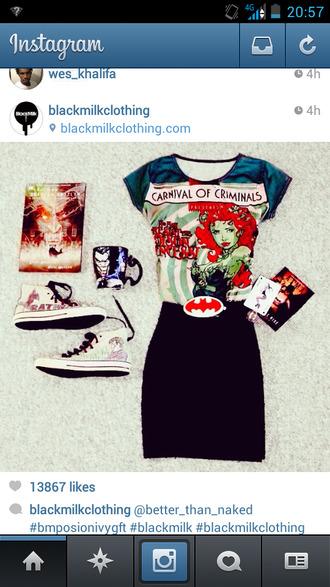 shirt dc comics putin ivy