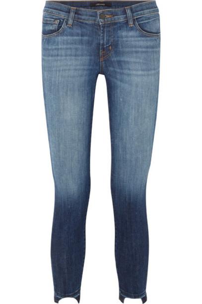J BRAND jeans skinny jeans denim dark