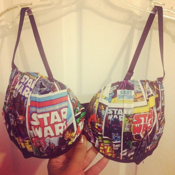 star wars underwear bra