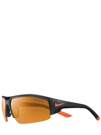 sunglasses black orange