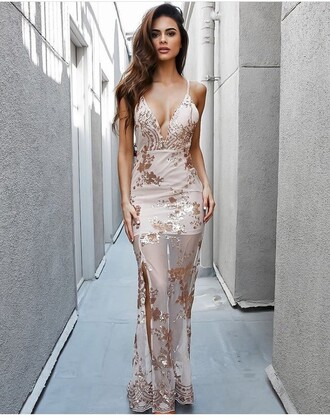dress gown ball gown dress summer dress cute dress sexy dress long dress party dress see through dress see through outfit outfit idea summer outfits cute outfits spring outfits date outfit party outfits special occasion dress fashion style stylish slit dress
