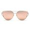 Metal frame trendy sunglasses - awesome world | awesome world - online store