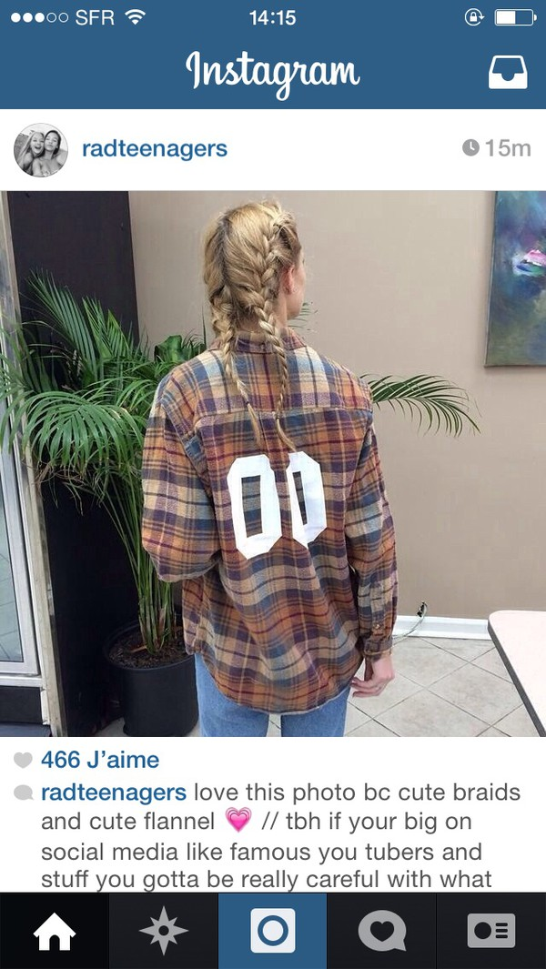 shirt blouse flannel shirt sportswear kylie jenner inspired