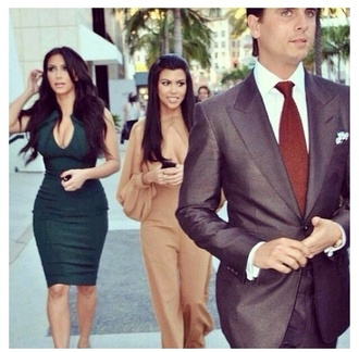 designer designer dress kim kim kardashian dress green dress designers kim kardashian dress celebrity style celebrity