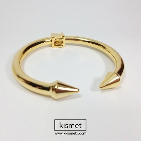 kismet                  - Gold Arrow Open Bracelet
