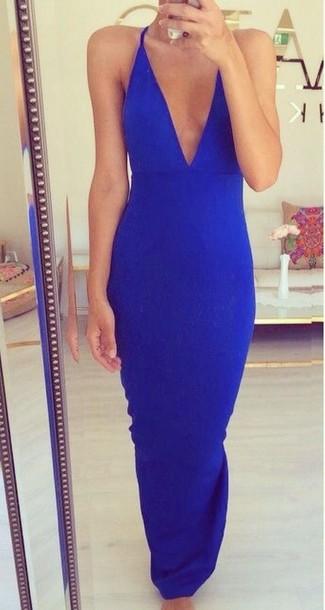 dress blue dress