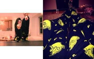 pajamas hailey baldwin kendall jenner
