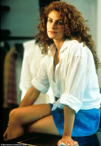 blouse white blouse julia roberts