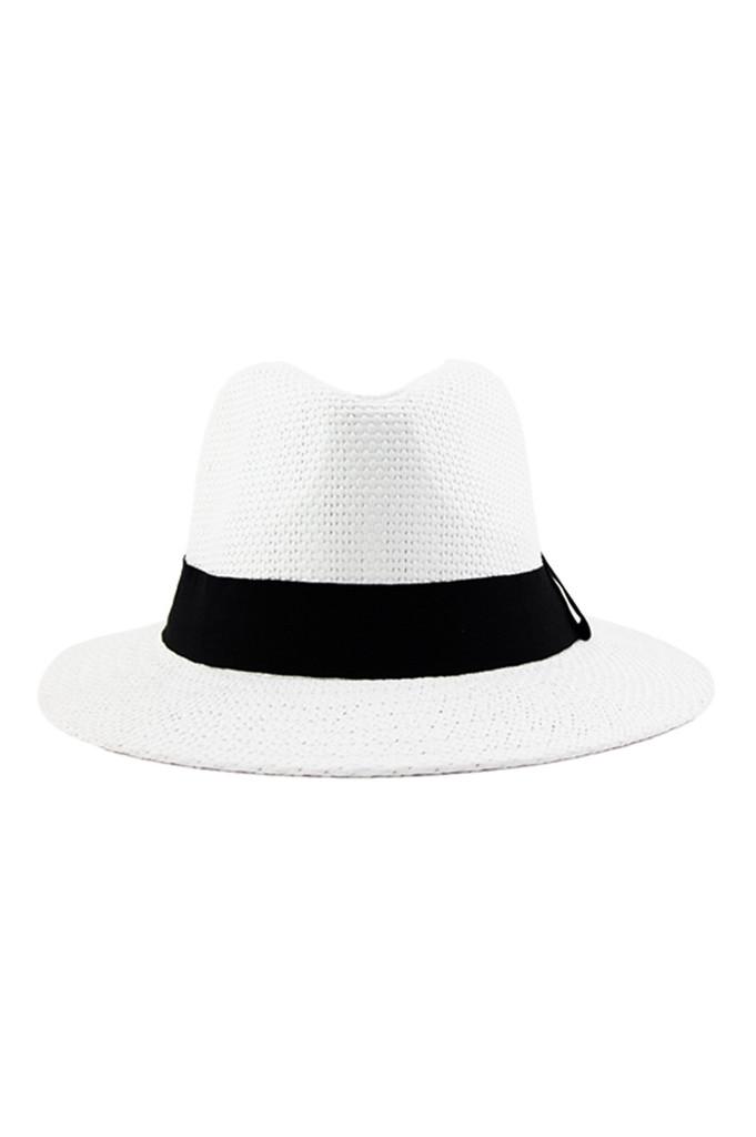 Flat brim panama hat | haute & rebellious