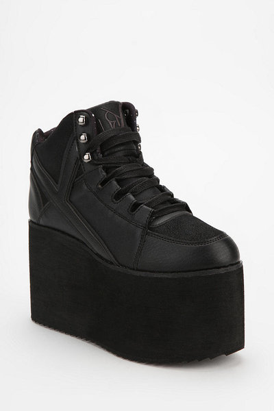 Arc   Quel | Y.R.U. 90s Style Hi-Top Platform Sneakers | Online Store Powered by Storenvy