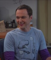 t-shirt,blue,jim parsons,big bang theory,sheldon cooper