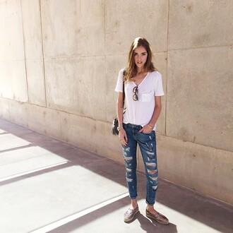 jeans lovers + friends skinny skinnyjeans destroyed skinny jeans revolve clothing revolve revolveme theblondesalad chiaraferragni