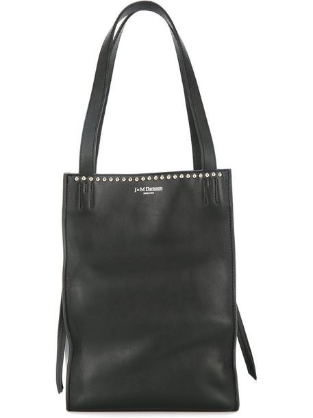 J & M Davidson studded bag mini studded women bag leather black