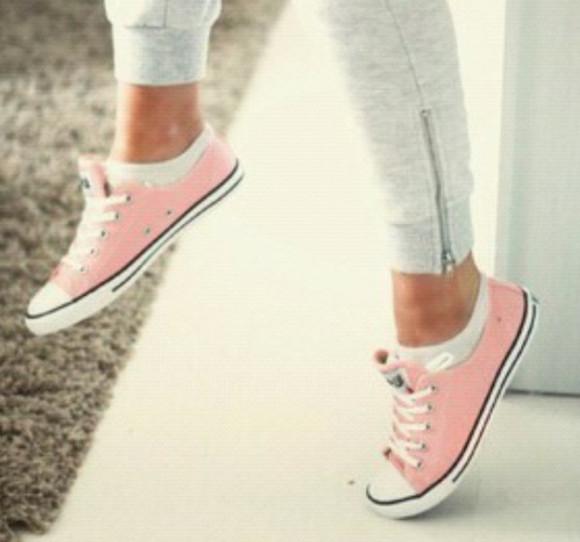 pink shoes bag