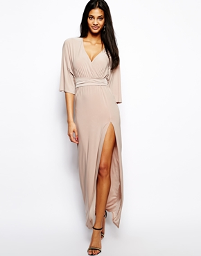 ASOS | ASOS Kimono Wrap Maxi Dress at ASOS