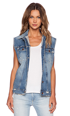 BLOUSON SANS MANCHES OVERSIZED INDIE from REVOLVEclothing.com