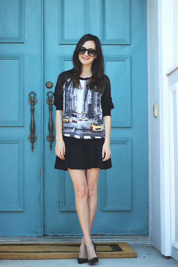 frankie hearts fashion blogger jumper