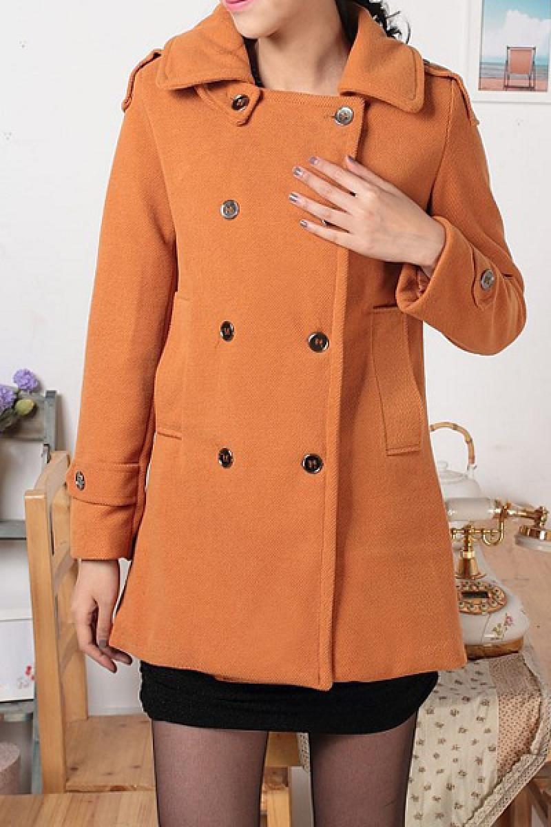 New Loose Thickening Woolen Overcoat,Cheap in Wendybox.com