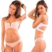 swimwear,bikini,koa swim bikini,white nude